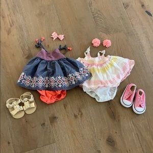 Baby girl Summer Bundle